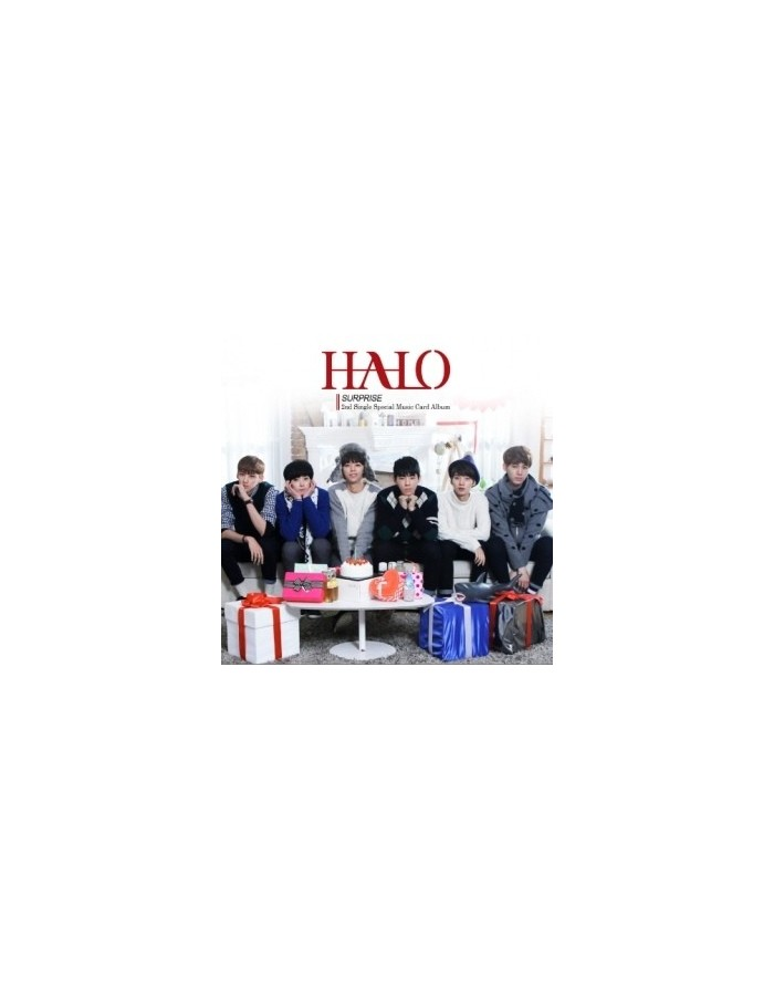 HALO 2nd Single Special Music Card Album - SURPRISE