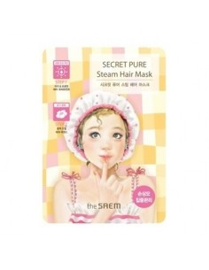 [the SAEM] Secret Pure Steam Hair Mask 15g+5g