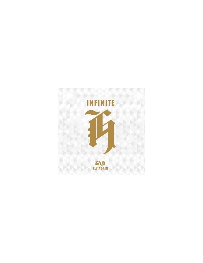 INFINITE H 2nd Mini Album - Fly Again CD + Poster + Photocards