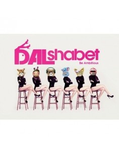 Dal★shabet Mini Album - Be Ambitious CD