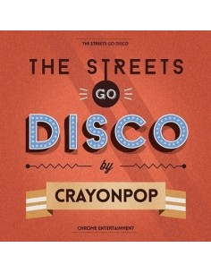 Crayon Pop Mini Album The Streets Go Disco CD