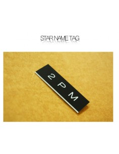 STAR Name Tag Badge of 2PM
