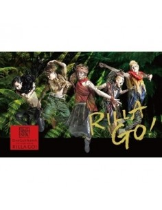 DGNA 3rd Single Album - Rilla Go CD + Poster