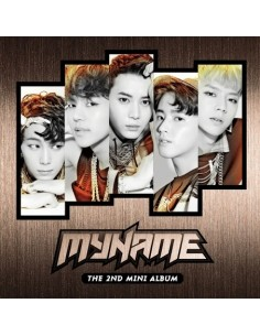 MYNAME 2nd Mini Album - MY NAME CD + Poster