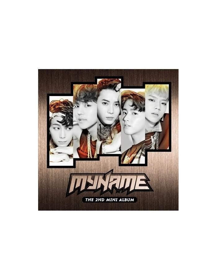 MYNAME 2nd Mini Album - MY NAME CD + Poster
