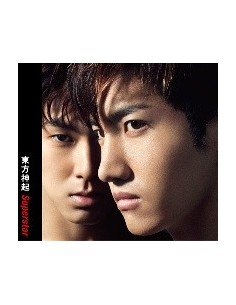 TVXQ Japanese Single Superstar CD + DVD Version