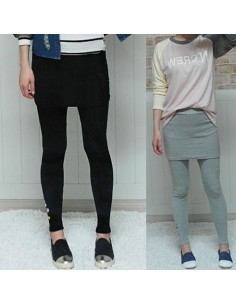 [LP12] Skirt Leggings ( 2Colors )