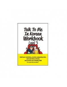 Talk To Me In Korean Work Book Level 3
