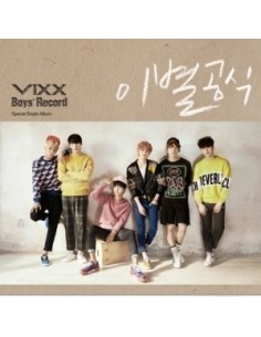 VIXX Special Single Album - Boys' Record CD + Poster