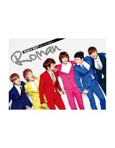 Teentop Teen Top First Mini Album ROMAN CD + Poster