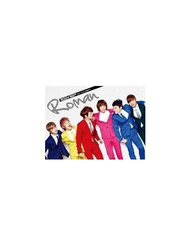 Teentop Teen Top First Mini Album ROMAN CD + Poster