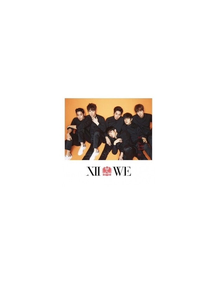 Shinhwa - 12th Album -  WE (Thanks Edition) CD + Photobook + Poster