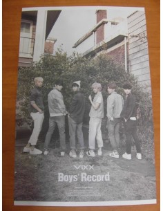 VIXX Boys' Record Special Single Album Official Poster
