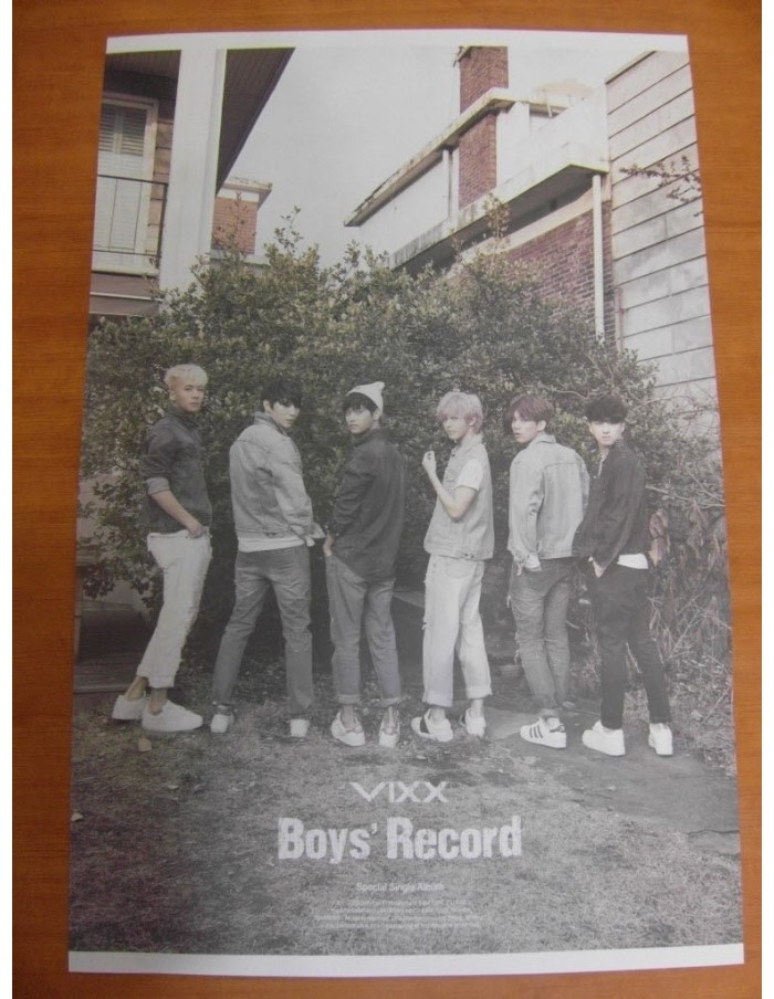 VIXX Boys' Record Special Single Album Official Poster