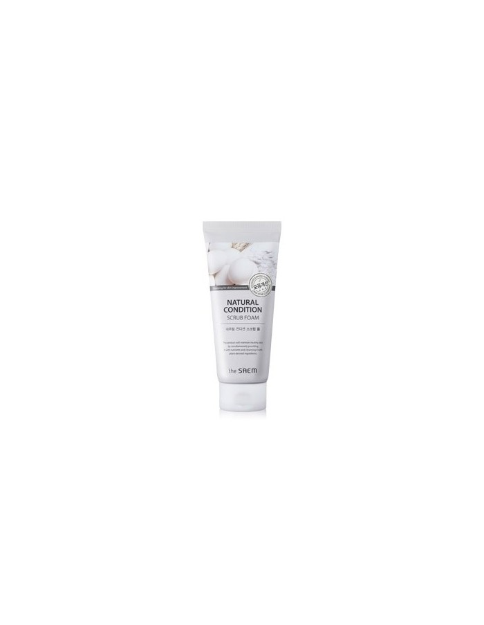 [the SAEM] Natural Condition Scrub Foam [Deep Pore Cleansing] 150ml