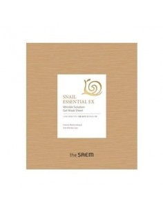 [the SAEM] Snail Essential EX Wrinkle Solution Gel Mask Sheet 28g