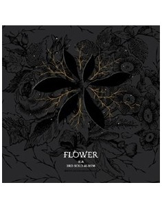 JYJ KIMJUNSU 3rd Album Vol 3 - FLOWER CD + Poster