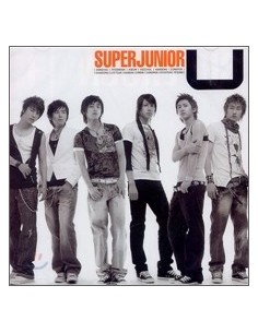 Super Junior Single Album U CD
