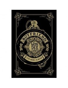 BOYFRIEND 4th Mini Album - WITCHBOYFRIEND in Wonderland CD + Poster