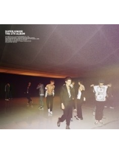 SUPER JUNIOR 미인아 BONAMANA 4th ALBUM Ver B CD