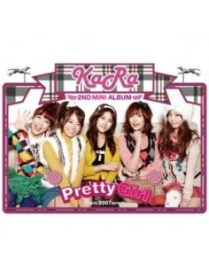 KARA CARA 2nd Mini Album Pretty Girl CD