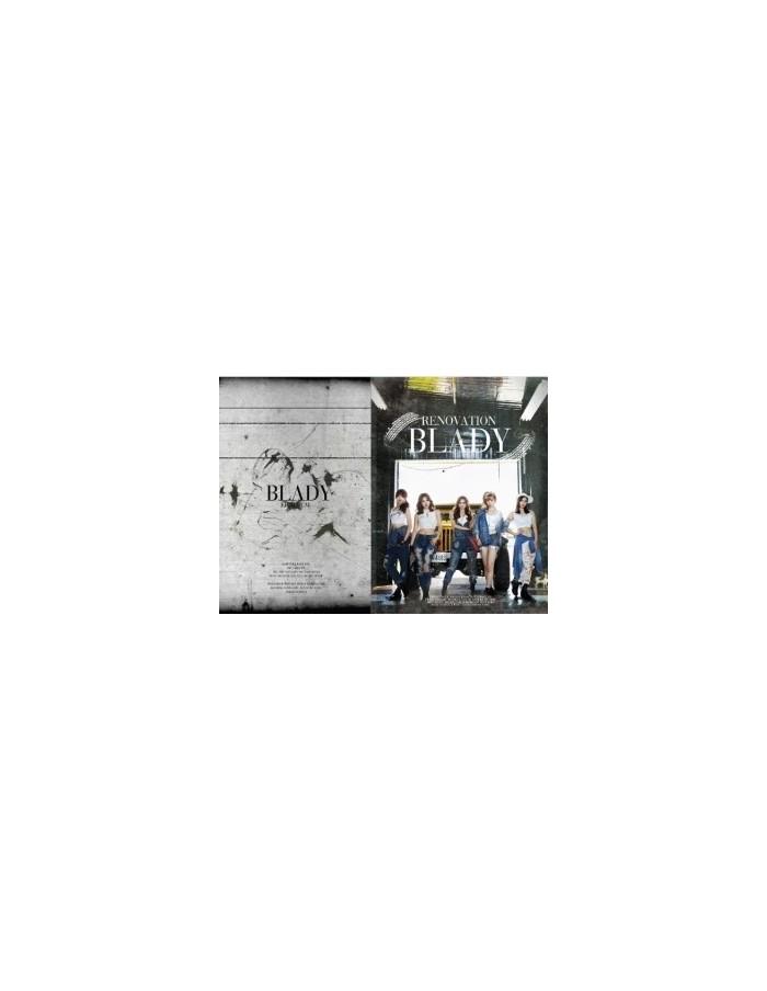 BLADY Album - RENOVATION CD + Photobook (60p)