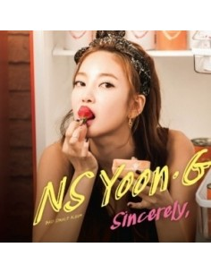NS Yoon G 3rd Single Album - Sincerely CD