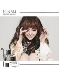 MINAH (GIRL''S DAY) FIRST MINI ALBUM -  I AM A WOMAN TOO (SMC Card Album)