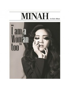 MINAH (GIRL''S DAY) FIRST MINI ALBUM -  I AM A WOMAN TOO CD + POSTER