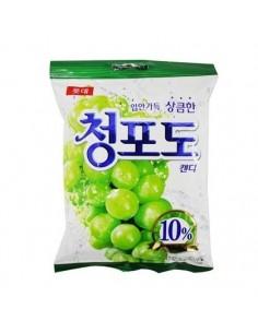 LOTTE Green Grape Candy 128g