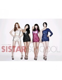 Sistar First Album So Cool CD + Poster