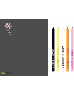 A.KOR Official Stationery Set - Photo Diary + 5 Pencils [ Pre-Order]