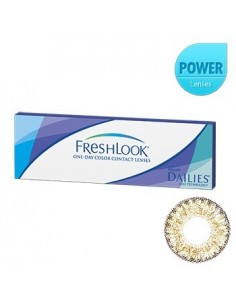 [ O-Lens ] FreshLook - Pure Hazel 1Pack (20pcs) (Prescription)