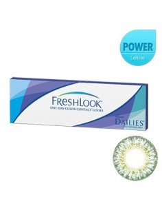 [ O-Lens ] FreshLook - Green 1Pack (20pcs) (Prescription)