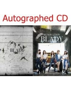 [Autographed CD] BLADY Album - RENOVATION CD + Photobook (60p) [ Pre-Order]