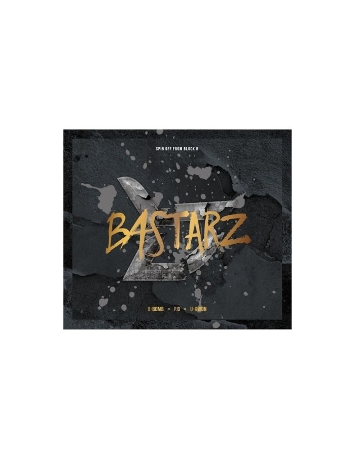 BLOCK B BASTARZ - 1st Mini Album 품행제로 CD + Poster