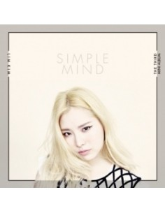 Togeworl Lim Kim 3rd Mini Album - Simple Mind CD + Poster