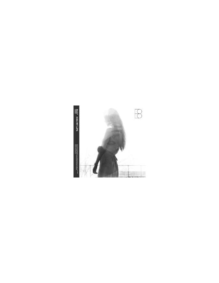 BoA 8th Album - Kiss My Lips CD + Poster