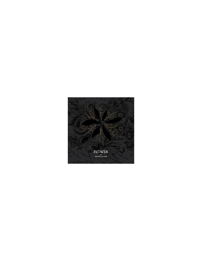 JYJ KIMJUNSU 3rd Album Vol 3 - FLOWER CD + Poster