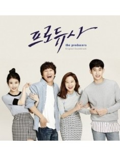 KBS Drama - 프로듀사 (Producers)  O.S.T Album CD + Poster