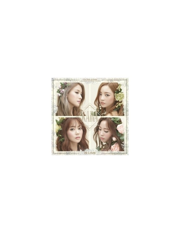 Kara 7th Mini Album - IN LOVE CD + Poster