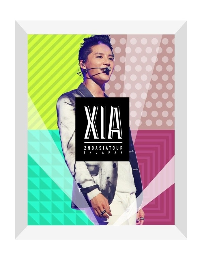 XIA 2ND ASIA TOUR CONCERT INCREDIBLE DVD