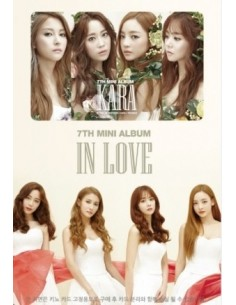 Kara 7th Mini Album - IN LOVE KINO Card Album