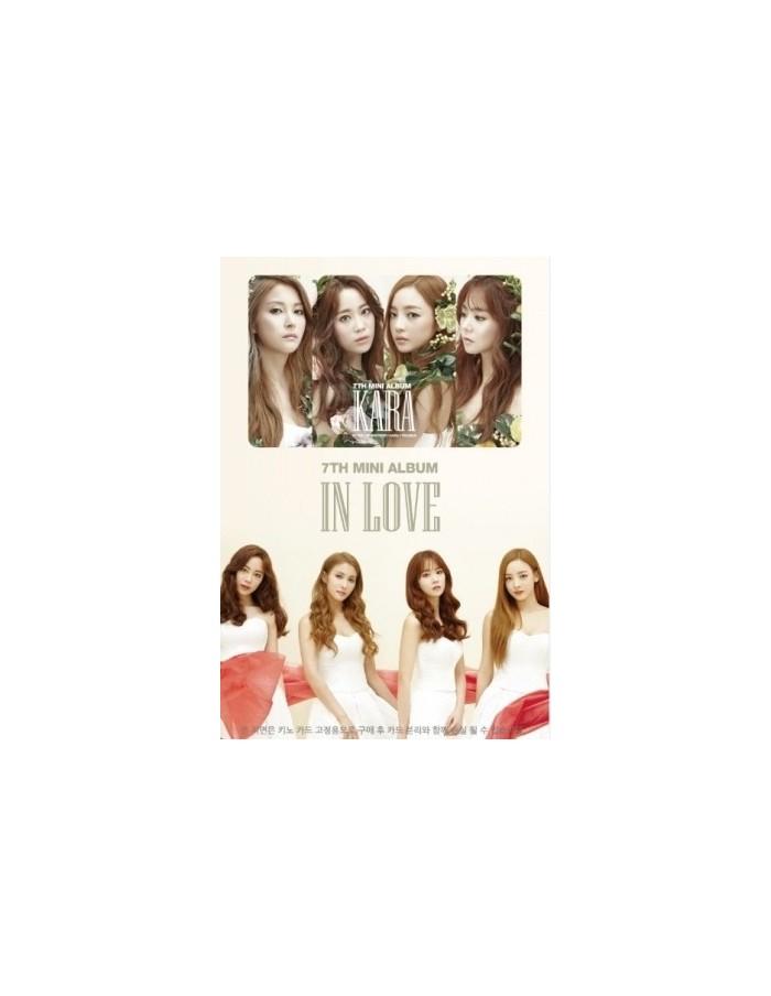 Kara 7th Mini Album - IN LOVE KINO Card Album