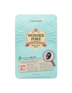 [Etude House] Wonder Pore Black Mask Sheet 21ml