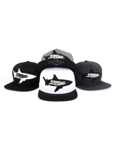 [CAP435] Shark Patch Snapback
