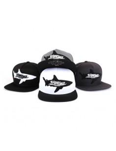 [CAP435] Shark Patch Snapback