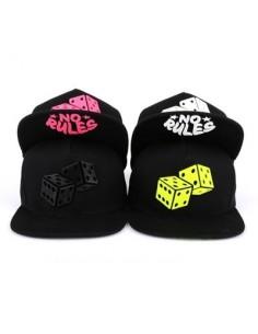 [CAP437] Rubber Dice Snapback