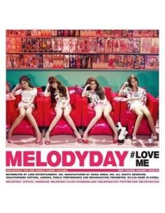 Melody Day 2nd Single Album - LOVEME CD