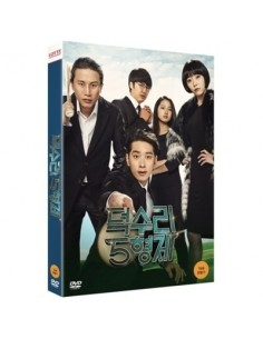 [DVD] 5 Brothers of Deoksuri 1 DIsc (2PM Chan sung, Lee Kwang soo)